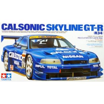 1/24 TAMIYA Nissan Calsonic Skyline Gt-r (r34)