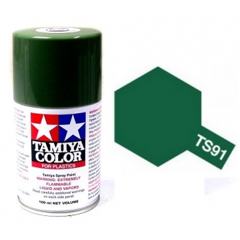 TAMIYA TS-91 Dark Green (JGSDF) spray