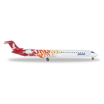 1/500 PLUNA - Lineas Aéreas Uruguayas Bombardier CRJ-900