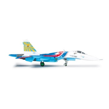 1/200 Russian Knights Aerobatic Team Sukhoi SU-27