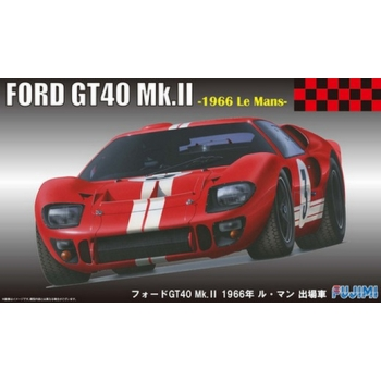 1/24 FUJIMI Ford GT40 1966 RS-51 Le Mans