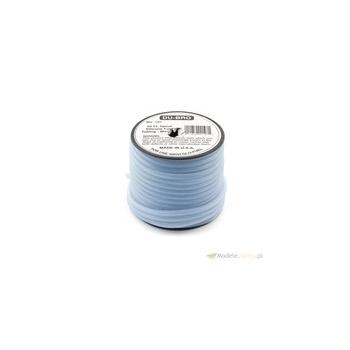 Dubro silikoonvoolik 2x5mm 1m läbipaistev sinine