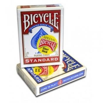 Trikikaardid Bicycle Riderback Short deck (kõik kaardid standardist lühemad)
