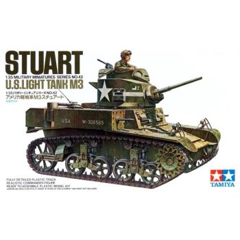 1/35 TAMIYA Stuart - U.S. Light Tank M3