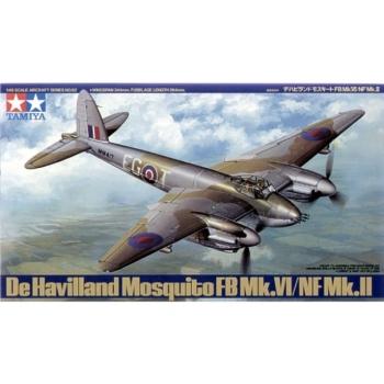 1/48 De Havilland Mosquito FB Mk.VI/NF Mk.II TAMIYA