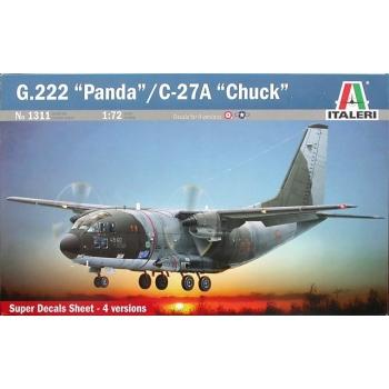 """1/72 G.222 """"Panda"""" / C-27A """"Chuck"""" ITALERI"""