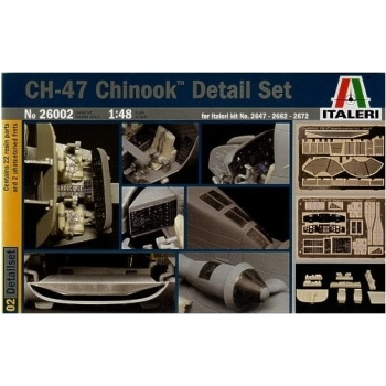 1/48 Italeri - Boeing CH-47 Chinook Detail Set