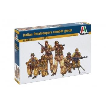 1/35 ITALERI Italian Paratroopers combat group