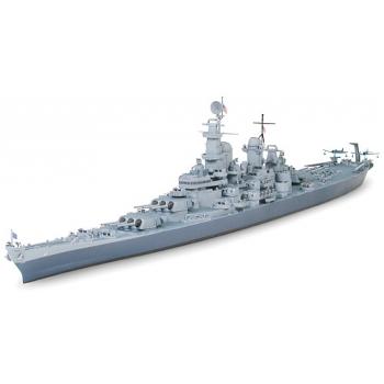 1/700 TAMIYA U.S. Navy, BB-63 Missouri