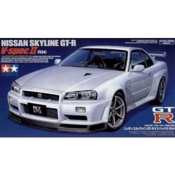 1/24 Tamiya -  Nissan Skyline GT-R V Spec II (R34)