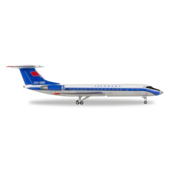 "1/500 Aeroflot Tupolev TU-134A ""Bluebird"" colors"