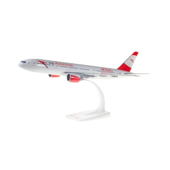 1/200 Austrian Boeing 777-200 - new colors - OE-LPD Snap Fit