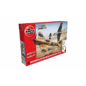 1/48 Messerschmitt Bf109E 2 mudelit Airfix