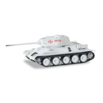 "1/87 Main battle tank T-34/85 Winter camouflage ""Kampf um Leningrad 1944"" Herpa"
