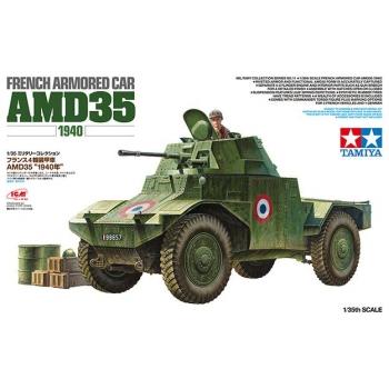 1/35 TAMIYA French Armored Car AMD35 (1940)