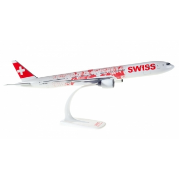 "1/200 Swiss International Air Lines Boeing 777-300ER ""Faces of Swiss"" - HB-JNA Snap-Fit"