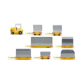 1/200 Airport Accessories container vehicles