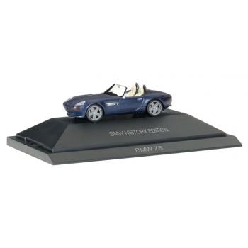 """1/87 BMW Z8 """"BMW History Edition"""" HERPA"""