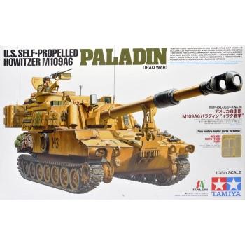 1/35 TAMIYA US Howitzer M109A6 Paladin