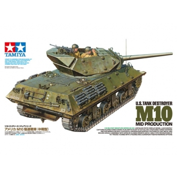 1/35 TAMIYA U.S. TANK DESTROYER M10