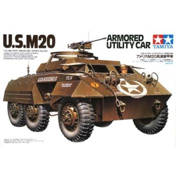 1/35 TAMIYA U.S. M20 Armored Utility Car