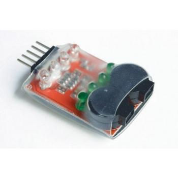 LiPo Alarm 2-4S