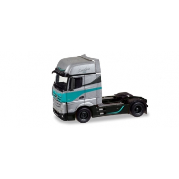 "1/87 Mercedes-Benz Actros Gigaspace rigid tractor ""Silver Star Edition"" (NL) Herpa"