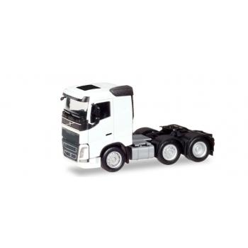 1/87 Volvo FH 6x2 rigid tractor, white Herpa