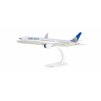 1/200 United Airlines Boeing 787-9 Dreamliner Snap -Fit
