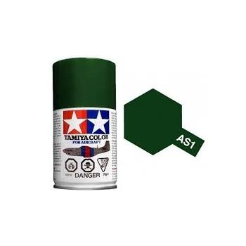 TAMIYA AS-1 DARK GREEN spray