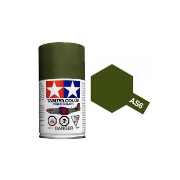 TAMIYA AS-6 OLIVE DRAB spray