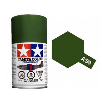 TAMIYA AS-9 DARK GREEN spray