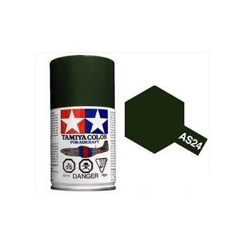 TAMIYA AS-24 DARK GREEN (LUFTWAFFE) spray