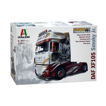 "1/24 ITALERI DAF XF105 ""SMOKY JR"" SHOWTRUCKS"