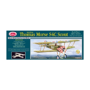 Guillow's Thomas Morse S40 Scout
