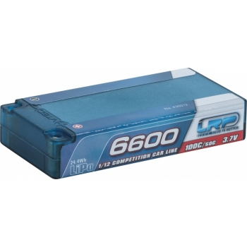 LiPo Aku 1S 3.7V 6600mAh 100C/50 LRP Hardcase