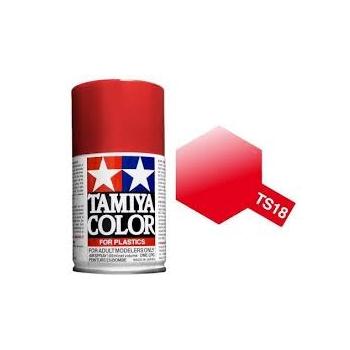 TAMIYA TS-18 METALLIC RED spray