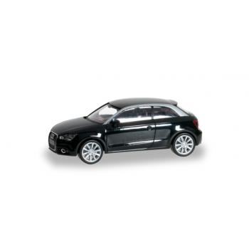"""1/87 Audi A1 std. """"brillantschwarz"""" HERPA"""
