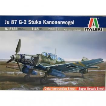 1/48 Ju 87G-2 Stuka Kanonenvogel ITALERI