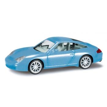 1/87 Porsche 911 Targa helesinine metallik   HERPA