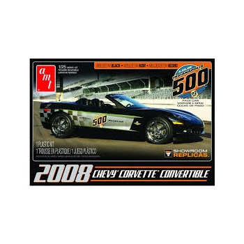 1/25 AMT 2008er Corvette Convertible Indy Pace Car