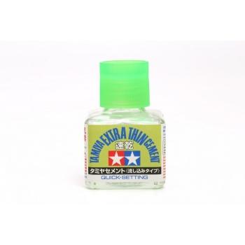 Tamiya Extra thin plastikmudelite liim, kiiresti kuivav versioon