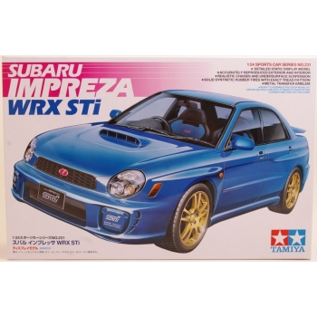 1/24 TAMIYA Subaru Impreza WRX STI