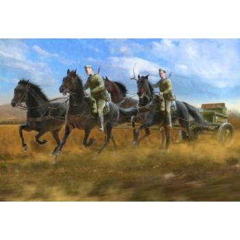 1/35 ICM - Soviet Regimental Artillery Horse Transport