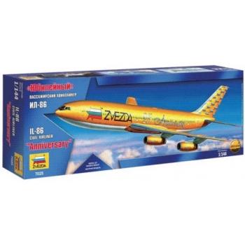 1/144 Zvezda - IL-86 '25 Zvezda Anniversary' Yellow