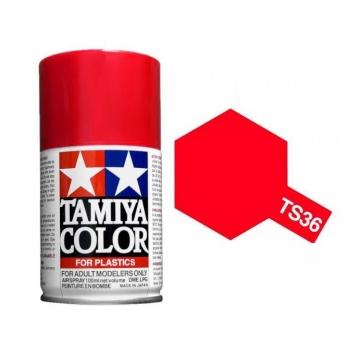 TAMIYA TS-36 Fluorescent Red spray
