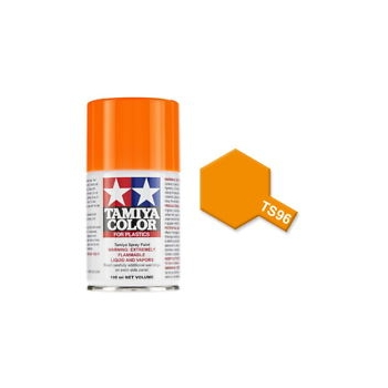 TAMIYA TS-96 Fluorescent Orange spray
