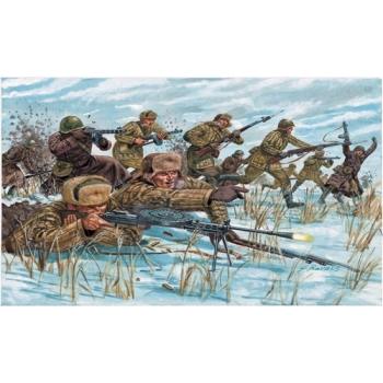1/72 ITALERI Russian Infantry : winter unif
