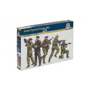 1/72 ITALERI Soviet Special Forces 80s