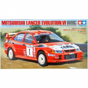 1/24 TAMIYA Mitsubishi Lancer EVO VI WRC